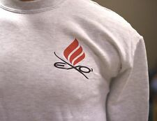 Ektelon Racquetball Sweater. 50% Cotton, Polyester. Mens Size Large. Light Grey