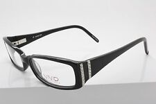 Vivid Boutique 670 Black / Crystals Plastic Eyeglasses Size 52-17-135 mm