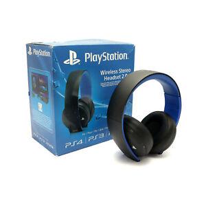 PS4 SA 230 Original Wireless Stereo 20 Headset schwarz + Empfänger Sony mit OVP