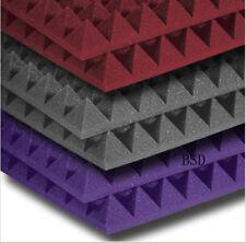 Acoustic soundproof  Pyramid Foam Wall Panel 30CM*30CM*5CM for studio room 6pcs
