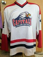 St Paul Capitals Highland Central High School Minnesota Hockey Jersey Large