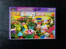 CRA Z ART Puzzlebug GARDENING TIME Jigsaw Puzzle 300 piece SEALED 18.25 x 11