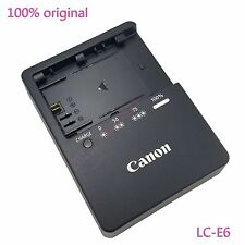 100% Genuine Canon LC-E6 Charger For LP-E6 battery EOS 5D Mark III 60D 70D New