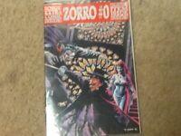 Topps 93' DRACULA VS. ZORRO comic book factory bag sealed!