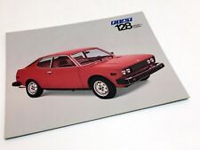1975 Fiat 128 Sport L Coupe Information Sheet Brochure