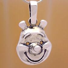 Cool Children Pig Piggy Pendant Marvelous Solid 925 Sterling Silver Cute