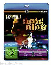 SLUMDOG MILLIONÄR (Dev Patel, Freida Pinto) Blu-ray Disc