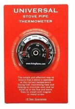 Stove Pipe Thermometer. Heat Monitor for Coal and Woodstoves.10 Year Gaurantee