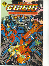 Crisis on Infinite Earths Crossover Index 1986 RARE Independent comics Group