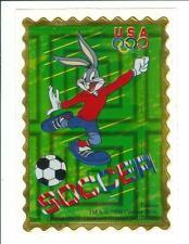 Bugs Bunny USA Olympic Soccer Sticker Decal Rare