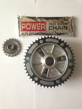 MZ ETZ 251/301 FINAL DRIVE SET MZ ETZ CHAIN, SPROCKETS FOR PRE-1991 BIKES