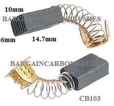 CARBON BRUSHES MAKITA 9741,LS0810, 6mm x 10mm x 14.7mm power tools new pair E19