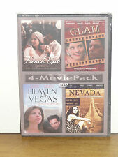 French Exit, Glam, Heaven Or Vegas, Nevada (DVD) 4-MOVIES SET! BRAND NEW!