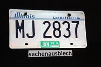 Kennzeichen Nummernschild USA Illinois Land of Linc.94