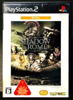 Shadow of Rome - PS2 Capcom Roman Gladiators Hack and Slash Game from Japan F/S