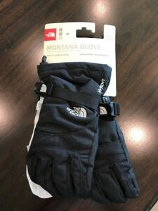 New North Face Girls Youth Montana Ski/Snow Gloves-TNF Black NWT