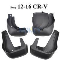 Front Rear Mudflaps For Honda CRV CR-V 12-16  Mud Flaps Splash Guards Mudguards