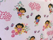5m Dora The Explorer Printed Curtain Fabric Curtains FREE POSTAGE