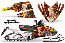 AMR Racing Arctic Cat M Series Snowmobile Graphic Kit Sled Wrap Decals MOTO MNDY
