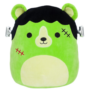Squishmallow  5'' Len the Monster, Kellytoy Halloween 2021, Gift Plush Hug Toy