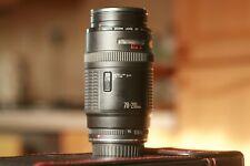 Canon EF 70-210mm F/4 Lens Clear Optics f4 @ 210mm Rare early EF rear lens cap