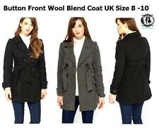 Wool Button-Down Coats & Jackets for Women