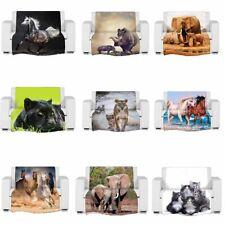 Boom Pro 3D Digital Foto Animal Impreso con temática de Polar Manta Cama Suave Reino Unido