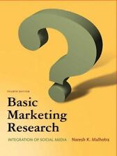 Basic Marketing Research by Naresh K. Malhotra (2011, Paperback, Revised)