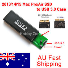 2013/14/15/16 MacBook Air Pro 12+16 Pins SSD to USB 3.0 Converter Adapter  Case