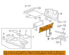 Pontiac GM OEM 06-09 G6 Interior-Rear-Sill Trim 15295680