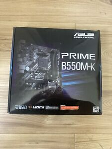 BUNDLE! ASUS Prime B550M-K Motherboard AM4 AMD B550 Chipset + Ryzen 5600X CPU