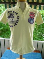 Key largo size S Polohemd T Shirt Club Hemd Vintage Fußball Biker used