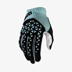 100 Percent GEOMATIC Glove Sky Blue LG
