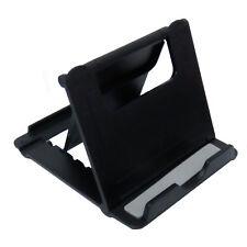 Handyhalter Smartphone & Tablet Halterung Tischhalter Ständer Faltbar Schwarz