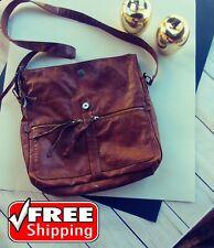 NINE WEST Brown Vintage rustic Bag Cross body