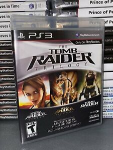 TOMB RAIDER HD TRILOGY COLLECTION PS3 NUOVO SIGILLATO INGLESE NTSC PLAYSTATION 3