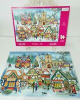 HOP House of Puzzles Village Life Puzzle Jigsaw BIG 250 Piece COMPLETE
