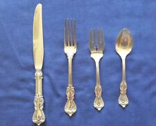 Reed and Barton Sterling Silver  Marlborough  4 Piece Place Setting (6 Availabl
