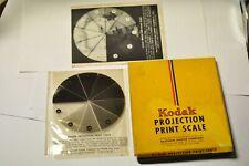 Kodak projection print scale.