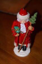 Hallmark Keepsake Ornament 2007 Nutcracker Santa with Tree NIB