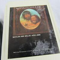 8 Track Tapes Lot of 26 Mixed Willie Nelson Mel Tillis Waylon Jennings