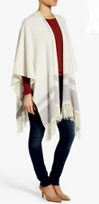 Nordstrom Collection Stripe Cashmere Cape NWT $399