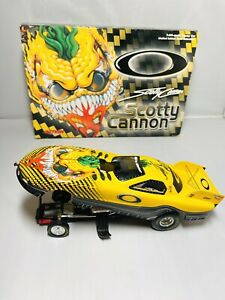 Oakley Scotty Cannon Diecast Autographed 1999 Pontiac Funny Car Mad Scientist