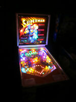 SUPERMAN Complete LED Lighting Kit custom SUPER BRIGHT PINBALL LED KIT
