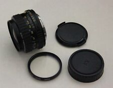 Vintage SMC PENTAX-A 1:2.8 28mm lens 5312635 with caps and UV filter HOYA 49mm
