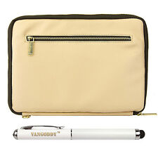 "VanGoddy Tablet Leather Sleeve Pouch Case Carry Bag For 10.2"" Apple iPad+ Stylus"