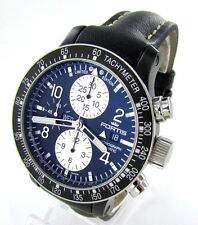 FORTIS B-42 STRATOLINER Chronograph PVD limitiert Automatik Herrenuhr