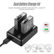 Dual Battery Charger +2pcs Rechargeable Batteries+ USB for Insta360 one X Camera