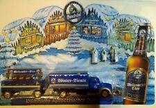 Weihnachten Werbetruck 1:87 Modellfahrzeug Sammeltruck Biertruck Getränketruck