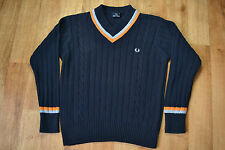 Fred Perry V Neck Jumpers & Cardigans for Men